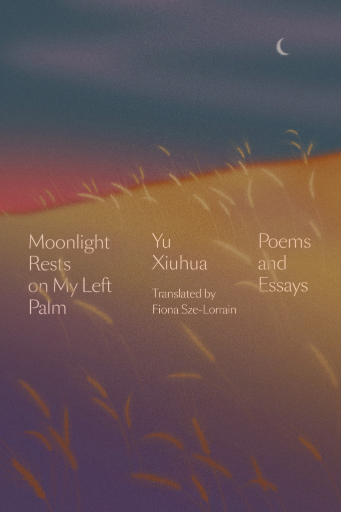 Cover of Moonlight Rests on My Left Palm by Yu Xiuhua